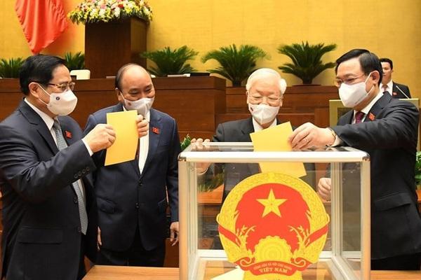 Hôm nay, Quốc hội phê chuẩn việc bổ nhiệm các Phó Thủ tướng, Bộ trưởng và thành viên Chính phủ