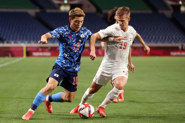 Kết quả môn bóng đá nam Olympic 2020: Tây Ban Nha thắng nhọc Nhật Bản