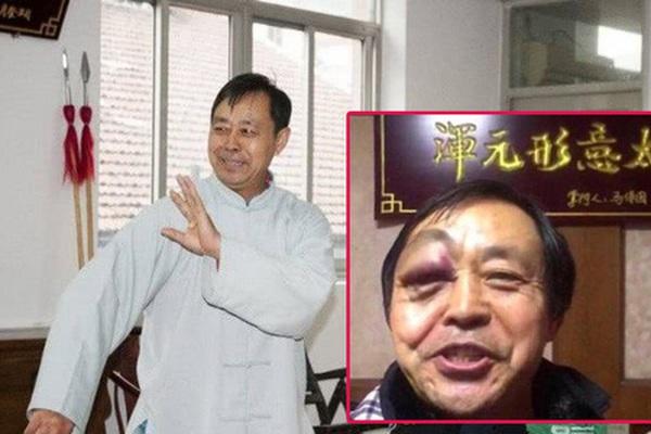 """Võ sư Thái Cực Quyền """"nổ"""" nhất Trung Quốc làm giả video hạ... võ sĩ MMA 90kg"""