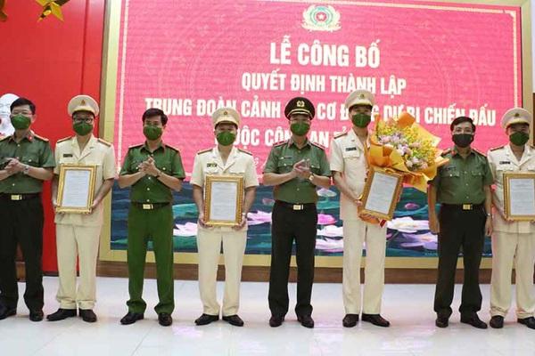 Bộ Công an thành lập các đơn vị mới trực thuộc Công an tỉnh trong tuần