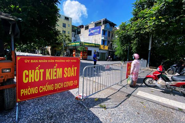 Hà Nội: Phát hiện chùm 6 ca dương tính SARS-CoV-2 tại quận Long Biên
