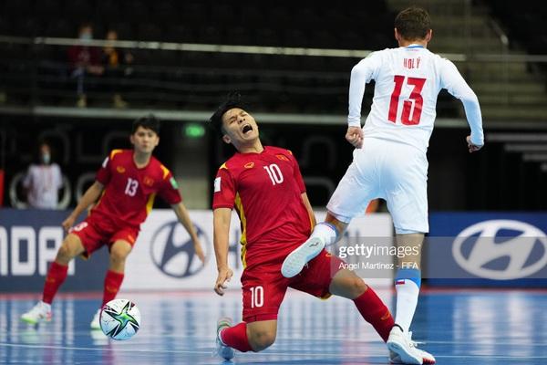 ĐT futsal Việt Nam sứt mẻ hàng công khi gặp Nga ở vòng 1/8 World Cup