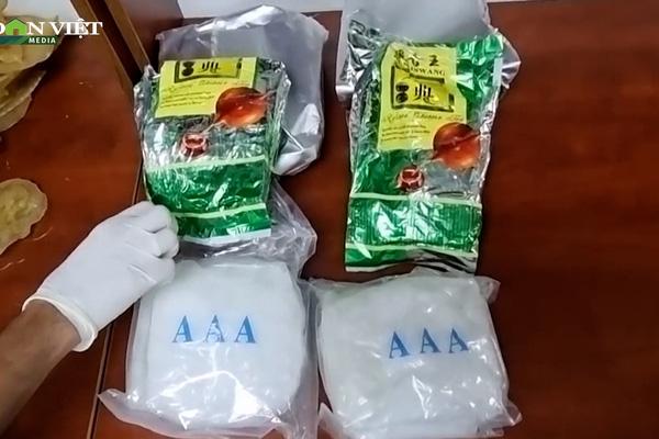 """Video: Hơn 4,6kg ma túy """"ẩn mình"""" trong cá khô, sứa biển chuẩn bị từ Việt Nam bay sang Úc"""