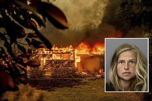 """Nữ """"pháp sư"""" đun nước tiểu gấu gây cháy rừng đe dọa thiêu rụi hàng nghìn ngôi nhà"""