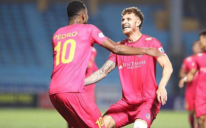 """Pedro Paulo - Geovane Magno: """"Pháo hai nòng"""" đưa Sài Gòn lên đỉnh V.League"""