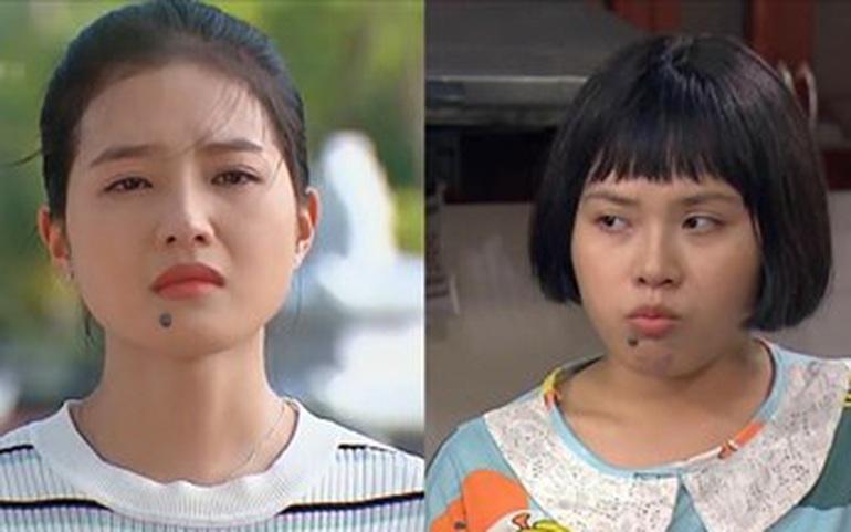 """Nhan sắc """"kẻ tám lạng người nửa cân"""" của 2 cô gái cùng đóng vai Diệp trong phim """"Hương vị tình thân"""""""