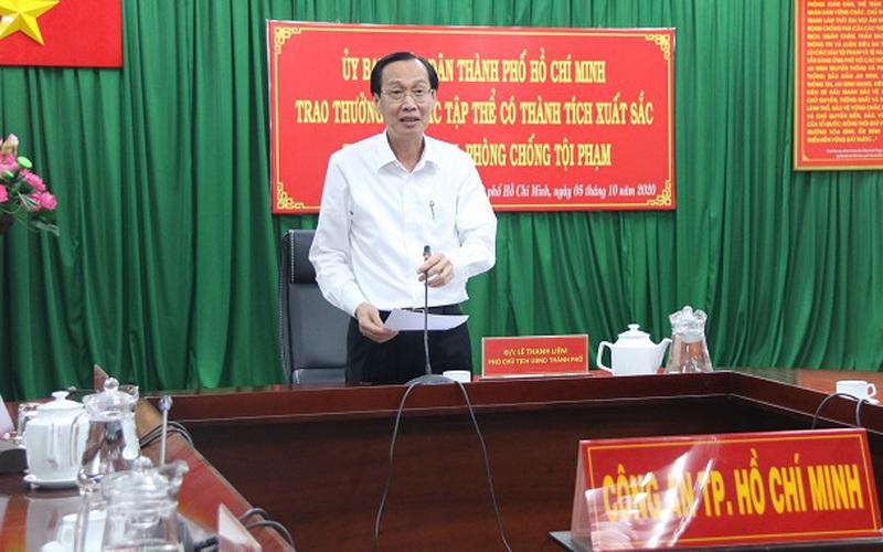 Phó Chủ tịch UBND TP.HCM khen thưởng các đơn vị phá 2 đường dây ma túy lớn