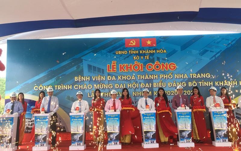 Khởi công dự án Bệnh viện Đa khoa TP. Nha Trang hơn 355 tỷ đồng