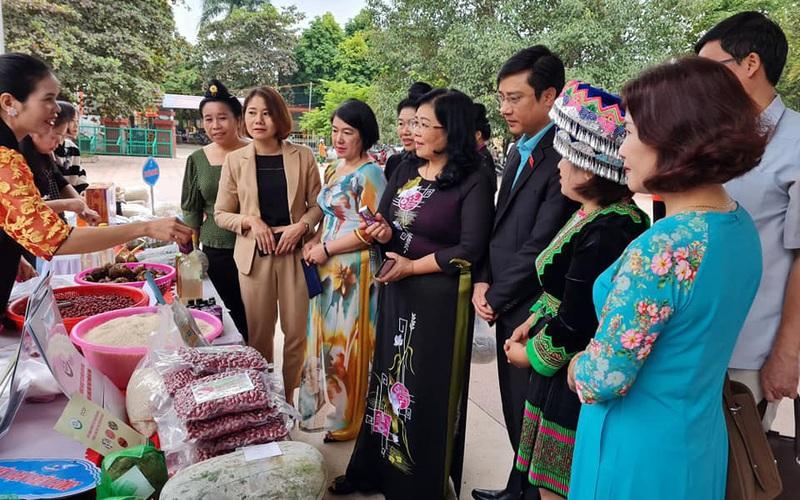 """Nhiều ý tưởng sáng tạo trong """"Ngày Phụ nữ khởi nghiệp"""" tỉnh Điện Biên"""