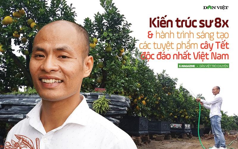Kiến trúc sư 8x và hành trình sáng tạo các tuyệt phẩm cây Tết độc đáo nhất Việt Nam