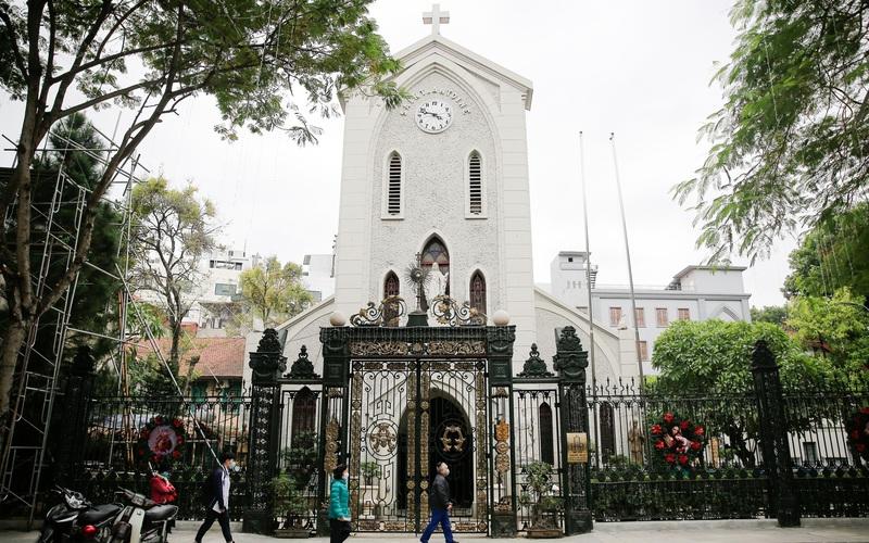 Lễ Giáng sinh đặc biệt tại các thánh đường ở Hà Nội