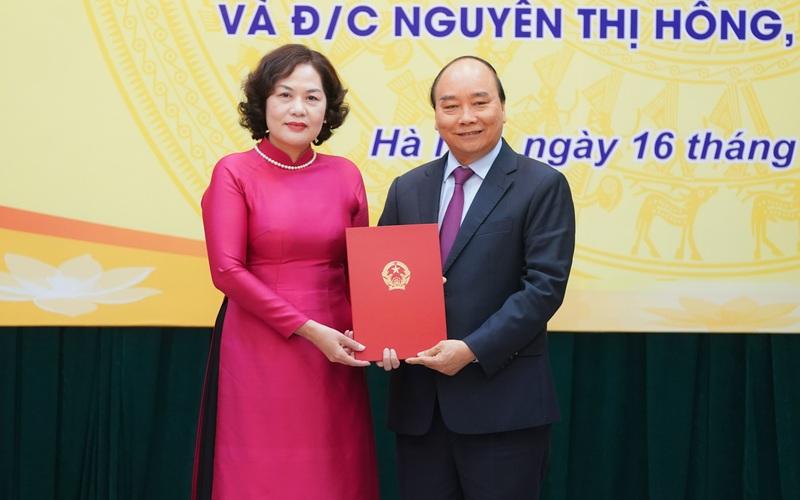 Nữ Thống đốc Ngân hàng Nhà nước được bổ nhiệm kiêm thêm chức vụ mới