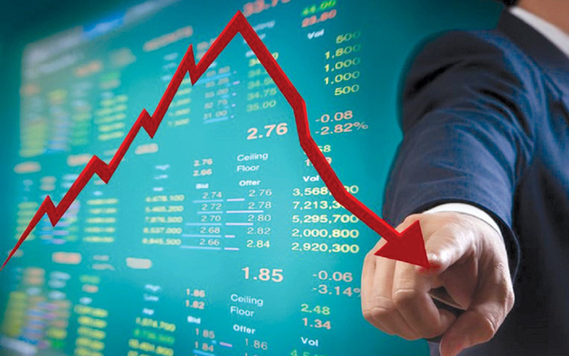 VN-Index giảm sâu, chỉ nhẹ hơn thị trường chứng khoán Hàn Quốc