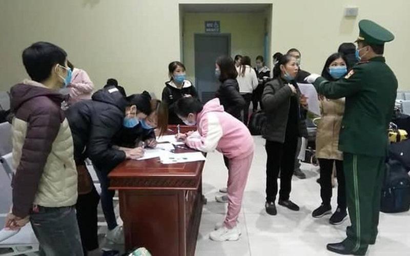 Cách ly 14 ngày 70 công dân Việt Nam đi lao động chui tại Trung Quốc