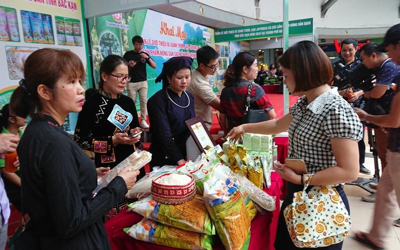 Bắc Kạn đưa nông sản sạch về Hà Nội