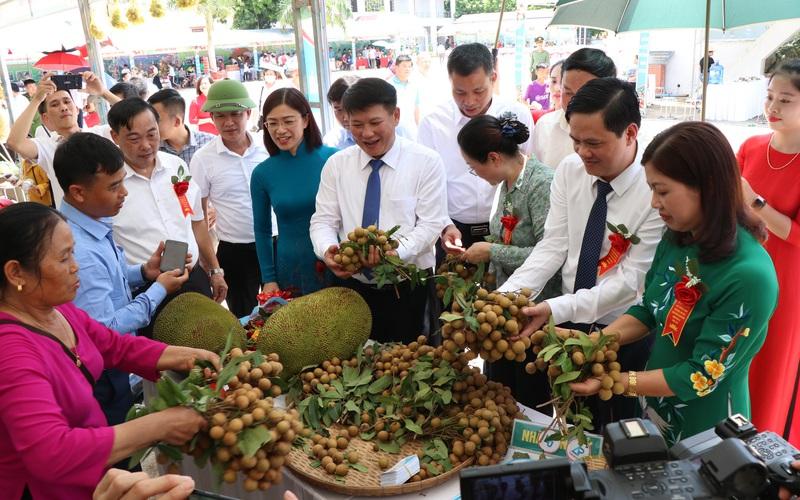 Sơn La: Xuất khẩu gần 30 tấn nhãn sang Trung Quốc