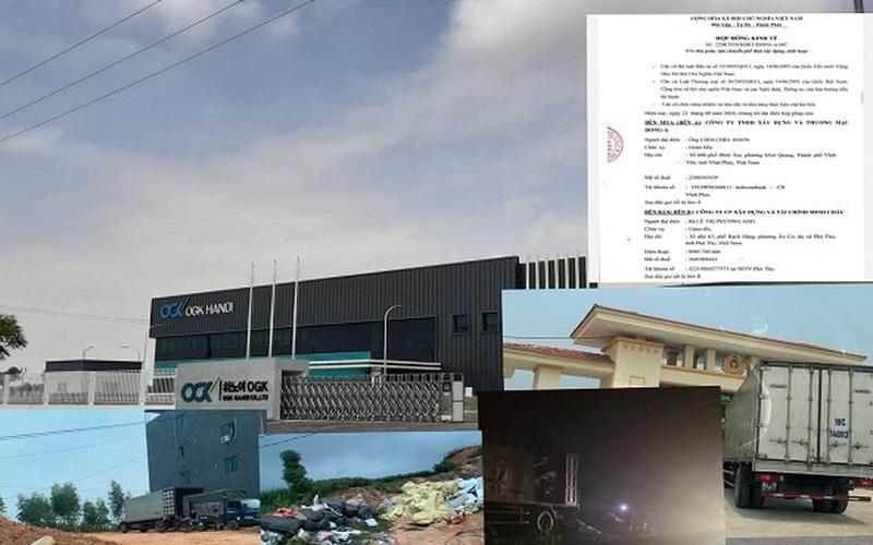 Rác thải từ KCN Phú Hà bị xả trộm ra môi trường: Trong 6 ngày vận chuyển ra ngoài 300m3 rác