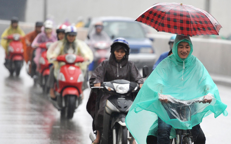 Không khí lạnh kết hợp hoàn lưu bão số 5, Bắc Bộ nguy cơ mưa to