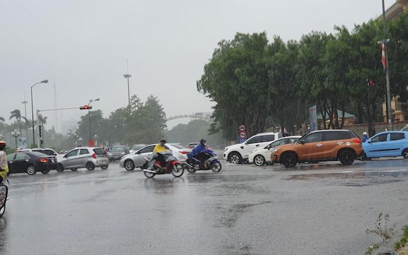 Nghệ An: Ảnh hưởng bão số 5, mưa lớn nhiều giờ liền