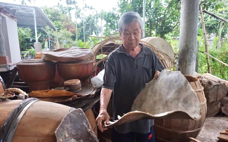Quảng Nam: Truyền nhân đời thứ 5 của gia tộc làm trống khổng lồ nổi tiếng nhất miền Trung là ai?