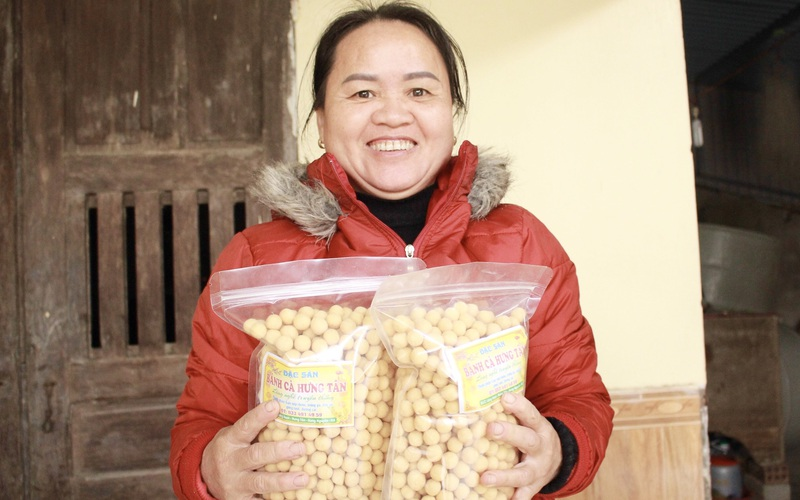 Nghệ An: Bánh cà là thứ bánh gì mà những nông dân ở xã Hưng Tân càng Tết càng bận làm nhiều?