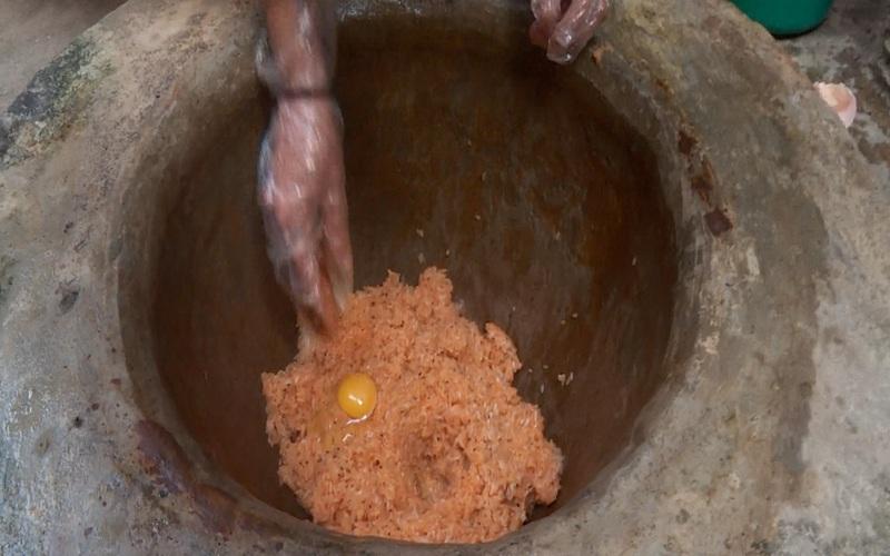 Điện Biên: Khẩu xén, khẩu chí chọp - đặc sản hương vị tết của đồng bào Thái trắng