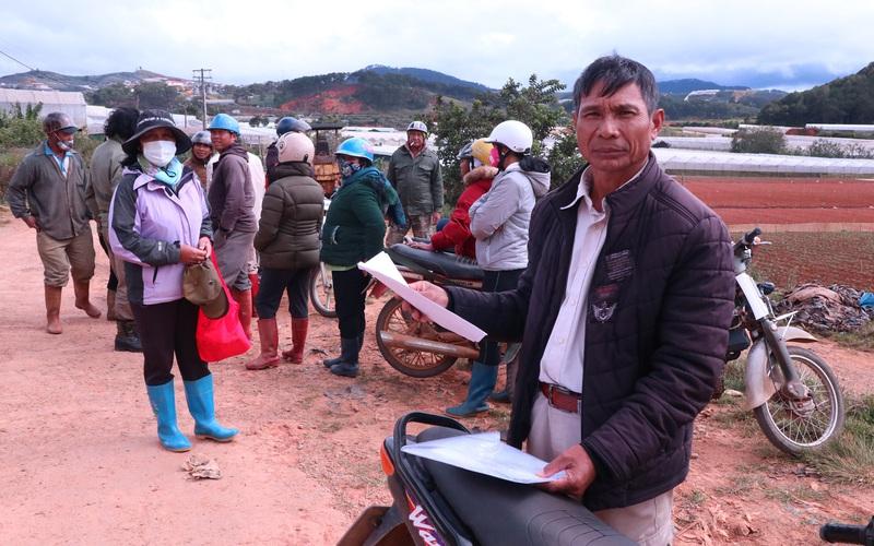 Lâm Đồng: Doanh nghiệp làm nông nghiệp công nghệ cao nợ tiền thuê đất, dân nghèo khốn đốn