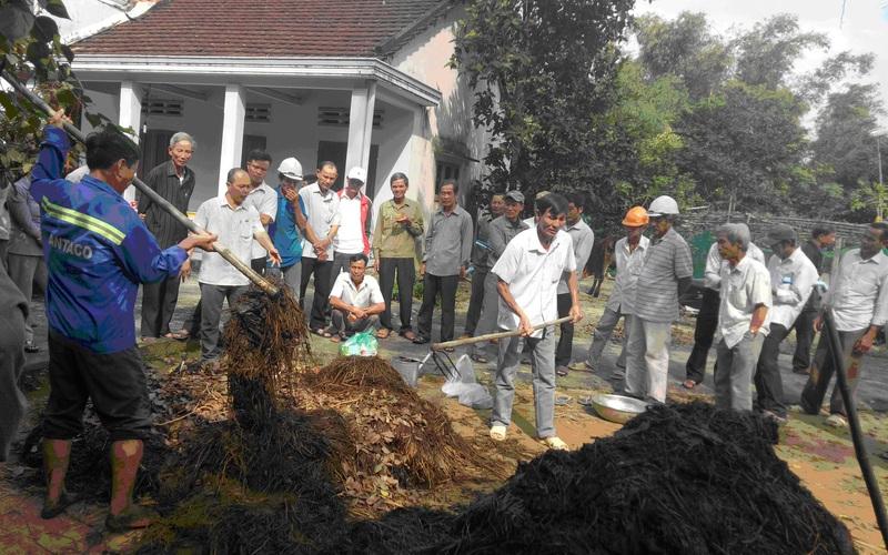 Biến những thứ bỏ đi thành 6.420 tấn phân hữu cơ giúp nông dân tăng thu nhập