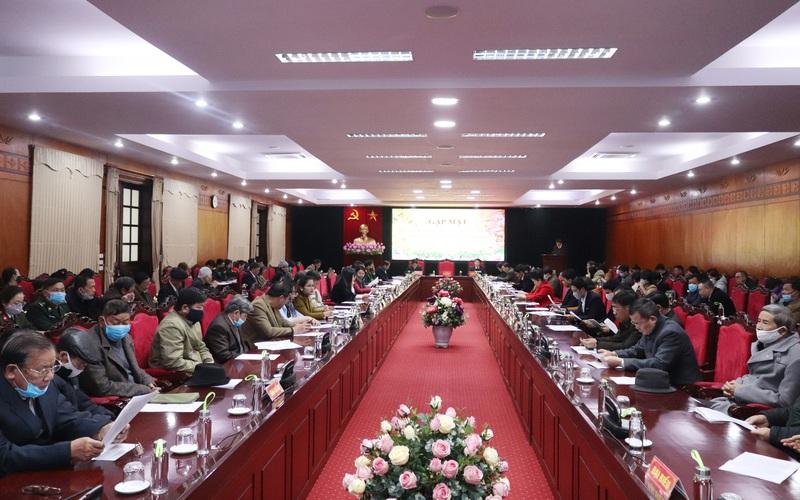 Tỉnh Sơn La gặp mặt đầu xuân các cơ quan báo chí, văn nghệ sỹ