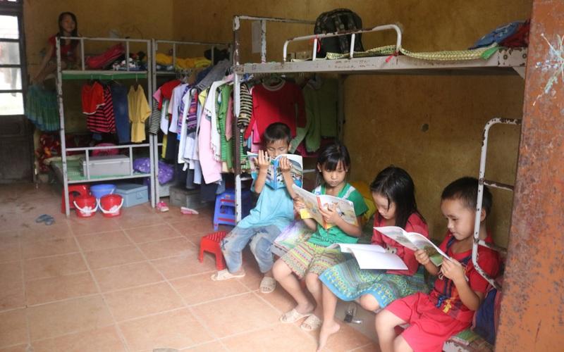 Nậm Giôn làm tốt công tác chăm lo cho học sinh bán trú vùng cao