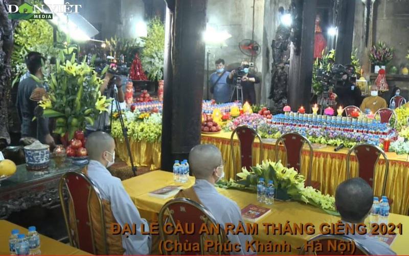 [LIVE] Chùa Phúc Khánh tổ chức Đại lễ Cầu an trực tuyến