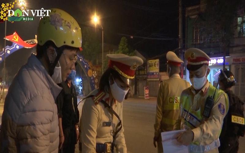 Công an thành phố Sơn La đảm bảo bình yên cho người dân ăn Tết
