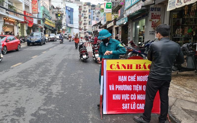 Đà Lạt: Gấp rút khắc phục sự cố sạt lở trên đường Phan Bội Châu