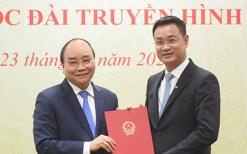 Thủ tướng chỉ đạo gì khi trao quyết định bổ nhiệm Tổng Giám đốc Đài Truyền hình Việt Nam?