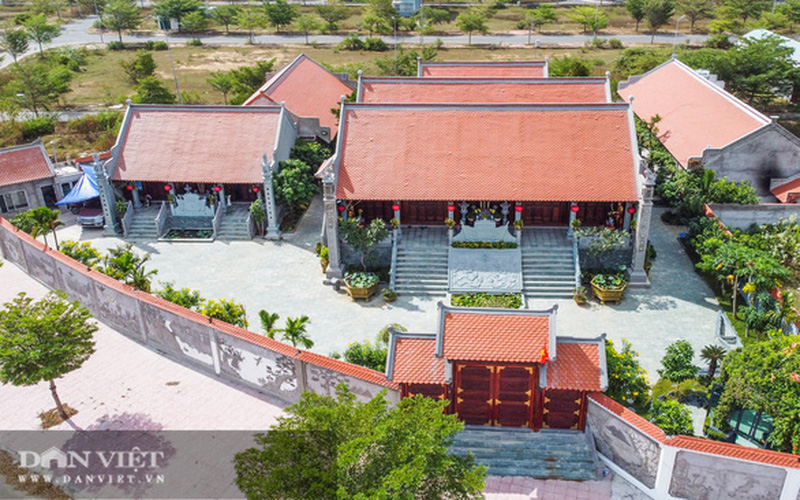 Cưỡng chế đền thờ trái phép trong khu dân cư của Giám đốc Công ty Tân Thành