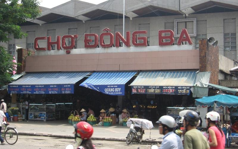 TT-Huế: Chuyển đổi mô hình quản lý, kinh doanh chợ Đông Ba và 18 chợ khác