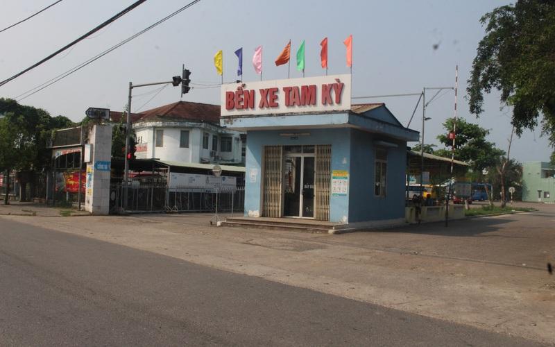 Quảng Nam: Xây dựng bến xe mới rộng 4,6ha