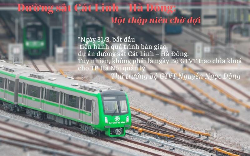 Đường sắt Cát Linh – Hà Đông: Một thập niên chờ đợi