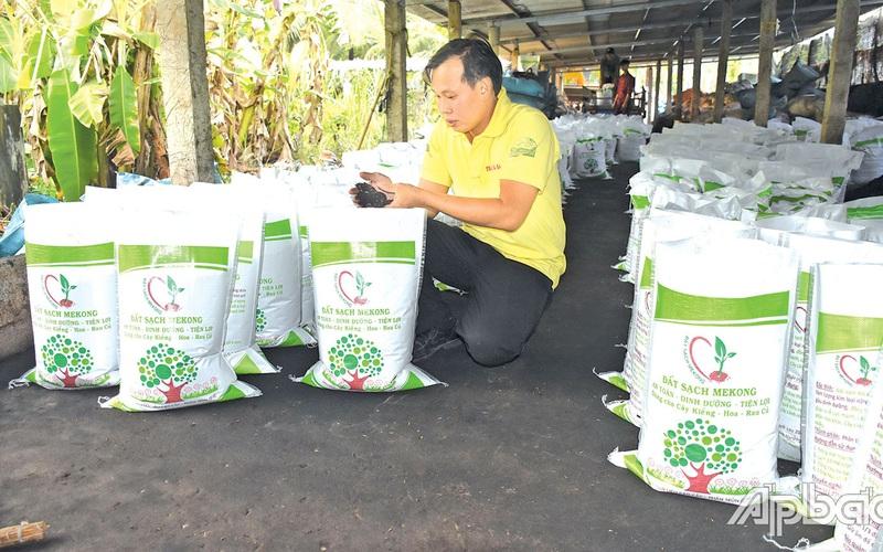 Tiền Giang: Khi Công Vinh bỏ lương cao về Chợ Gạo nuôi con không chân để bán phân