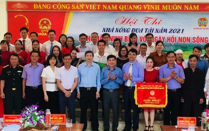 Ninh Bình: Hội Nông dân tổ chức Hội thi Nhà nông đua tài năm 2021 với chủ đề gì?