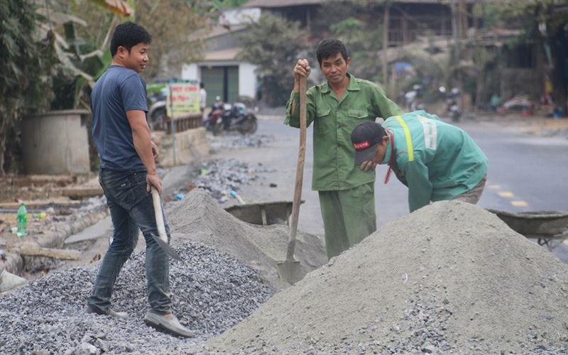 Vân Hồ: Nhân dân đồng thuận, góp sức cùng chính quyền xây dựng nông thôn mới