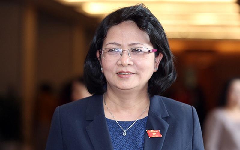 Chủ tịch nước Nguyễn Xuân Phúc trình Quốc hội miễn nhiệm Phó Chủ tịch nước Đặng Thị Ngọc Thịnh