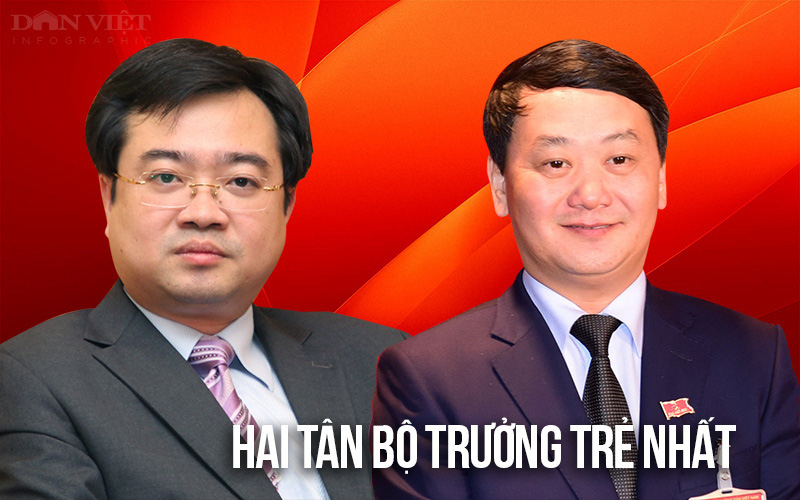 Chân dung 2 Bộ trưởng trẻ nhất trong số các thành viên Chính phủ