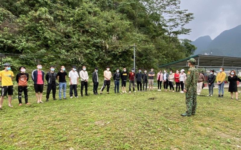 Cao Bằng: Phát hiện nhiều công dân Việt Nam nhập cảnh trái phép