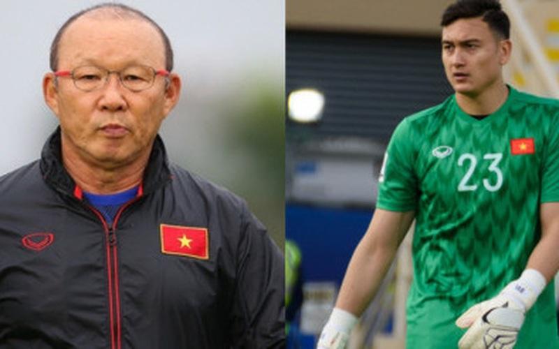 Công bố danh sách 33 tuyển thủ ĐT Việt Nam: Bất ngờ Đặng Văn Lâm