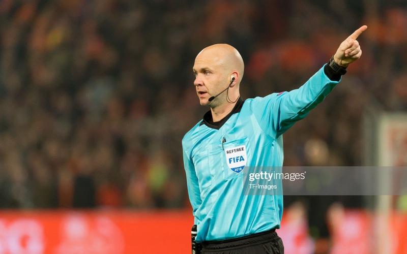 """Anthony Taylor: Trọng tài """"giúp"""" Pháp vô địch UEFA Nations League là ai?"""
