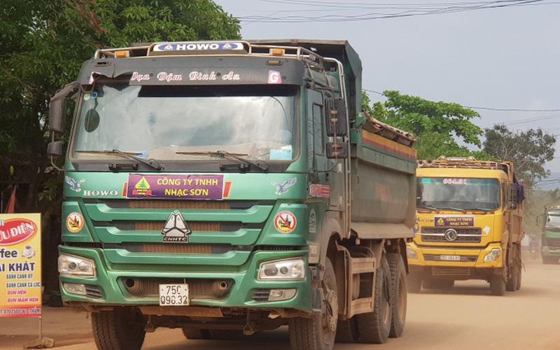 TT-Huế: Yêu cầu khắc phục một số tuyến tỉnh lộ xuống cấp do thi công cao tốc Cam Lộ - La Sơn