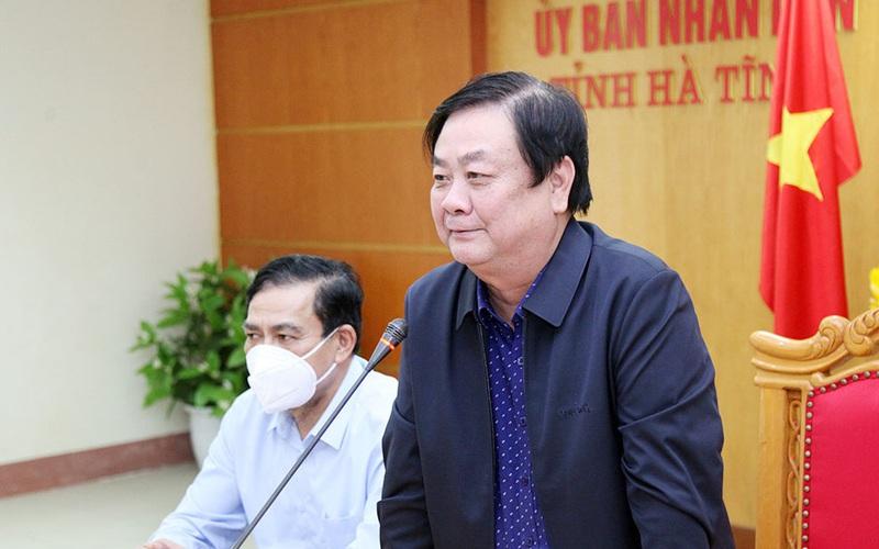Bộ trưởng Lê Minh Hoan: Hà Tĩnh ứng phó với bão số 8 rất bài bản, khoa học và sát thực tế