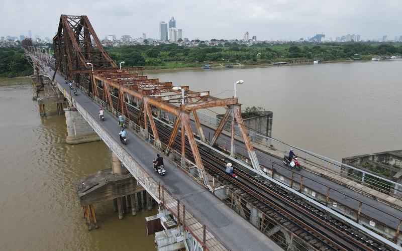 Sau 14 năm, cầu Long Biên mới được sửa chữa, bảo dưỡng tổng thể lớn