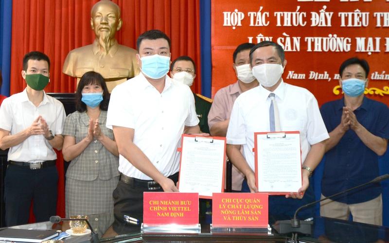 Nam Định: 40 sản phẩm nông sản được đưa lên sàn thương mại điện tử voso.vn